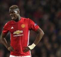 El francés Paul Pogba llegó esta temporada al Manchester United por más de 100 millones de euros.