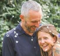 A Russell Davison la muerte de su mujer Wendy le rompió el corazón.