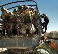 """BOLIVIA.- Chile calificó el envío del grupo de militares como """"una acción delicada"""". Foto: Twitter La Nación"""