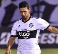 Fernando Giménez no está teniendo una buena campaña con el Olimpia paraguayo.