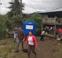 Más de 100 familias en varios recintos de Sigchos han sido afectados por el invierno. Foto: Patricio Viera.