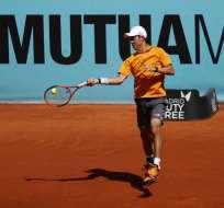El japonés Kei Nishikori se metió en los cuartos de final del Torneo ATP de Madrid.