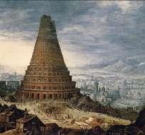 La pieza describe una gran construcción elaborada por multitudes desde lugares lejanos. Foto referencial