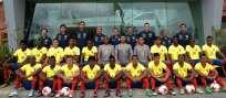 La selección ecuatoriana sub-20 viajará este domingo a Corea del Sur. Foto: API