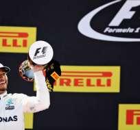 El británico Lewis Hamilton se quedó con el Gran Premio de España en una emocionante carrera.