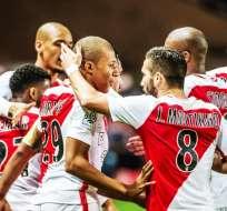 El Mónaco está a un punto de asegurar el título de liga en Francia, tras 17 años de no ser campeón.