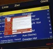 """El virus, llamado """"Wannacry"""", bloquea archivos de los usuarios y los obliga a pagar una suma de dinero en bitcoins, la moneda virtual. Foto:AP."""