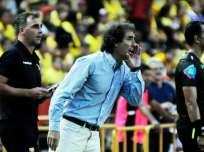 Guillermo Almada se quejó de las decisiones de la Federación Ecuatoriana de Fútbol (FEF). Foto: Tomada de la cuenta Twitter @BarcelonaSCweb