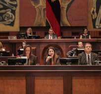Los nuevos legisladores se posesionaron en el pleno el 14 de mayo para los próximos 4 años. Foto: Asamblea Nacional