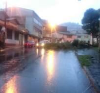 QUITO, Ecuador.- El clima en la capital coincide con un informe elaborado por el Inamhi. Foto: