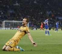Harry Kane metió 4 goles y es el goleador de la Premier League. Foto: AFP