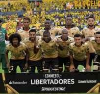 Mena fue titular en el partido de este jueves ante Estudiantes de la Plata. Foto: AFP