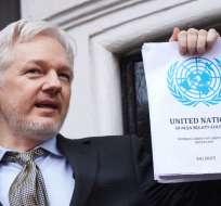 ESTOCOLMO, Suecia.- Ecuador exigió que la justicia del país escandinavo inculpara a Assange o abandonara la causa. Foto: AFP.