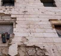 BEIRUT, Líbano.- Evacuaciones de Aleppo, Siria. Foto: AFP.