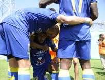 Delfín venció por 1-0 a Deportivo Cuenca en el estadio Jocay de Manta. Foto: API