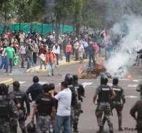 QUITO, Ecuador.- El 30 de septiembre de 2010 una sublevación policial paralizó al país. Foto: Archivo.