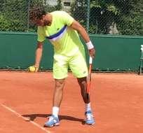 El ecuatoriano Roberto Quiroz ganó en su debut en la fase de clasificación del torneo de Roland Garros.