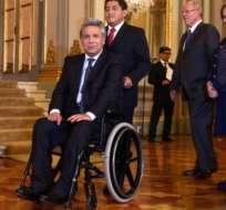Moreno se convierte en el único jefe de Estado que usa silla de ruedas en todo el mundo.