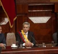 QUITO, Ecuador.- firmó el decreto en el que asumió oficialmente la Presidencia Constitucional de Ecuador. Foto: Flickr Presidencia Ecuador.