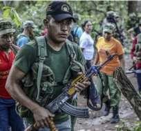 Se suponía que los guerrilleros entregarían unas 7.000 armas antes de fin de mayo. Eso parece difícil ahora.