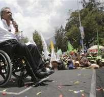 Moreno, quien triunfó en los comicios de abril, recibirá un Ecuador con un déficit aproximado de $ 8.000 millones. Foto: AP