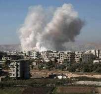 BEIRUT, Líbano.-  Entre el 23 de abril y el 23 de mayo, 225 civiles han sido abatidos en Siria, según el OSDH. Foto Referencial: AFP.