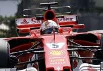 Sebastian Vettel es el actual líder del campeonato mundial de Fórmula Uno. Foto: AP