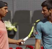 Rafael Nadal y Novak Djokovic podría enfrentarse en una de las semifinales de Roland Garros.