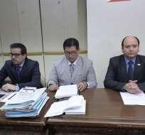 QUITO, Ecuador.- El fiscal general del Estado, Carlos Baca Mancheno, solicitó a la Corte Nacional de Justicia, abrir un proceso por enriquecimiento ilícito. Foto: API