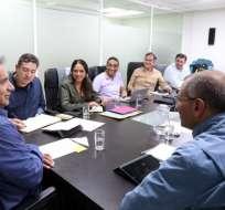 Se analizó la hoja de ruta que empleará durante los primeros 100 días de gobierno. Foto: Elciudadano.gob.ec