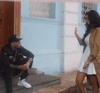 """Nicky Jam graba en Ecuador el tema """"Si tú la ves"""", él es mundialmente reconocido por sus colaboraciones musicales. Foto: ProEcuador"""
