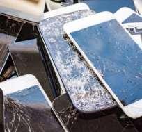 El 23% de los usuarios de celulares en EE.UU. aceptaron que continuaron utilizando su celular después de que se rompió la pantalla.