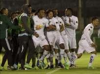 Los 'albos' ganaron por primera vez en Uruguay por un torneo internacional. Foto: Tomada de la cuenta Twitter @CONMEBOL