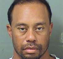 Tiger Woods fue detenido por estar dormido al volante en una carretera de Florida. Foto: AP