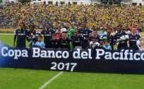 Universidad Católica ganó 3-1 en el partido de ida jugado en Bolivia. Foto: Tomada de la cuenta Twitter @UCatolicaEC
