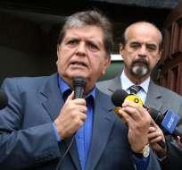 PERÚ.- El expresidente peruano desmintió en Twitter al medio de comunicación que publicó la fotografía. Foto: Medios peruanos
