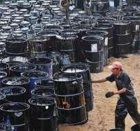 EE.UU.- El barril de crudo WTI para entrega en julio perdía 71 centavos, a 47,65 dólares. Foto: Archivo