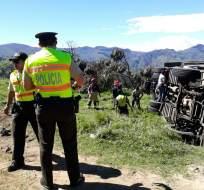 GUARANDA, Ecuador.- Autoridades confirmaron la muerte de una adolescente de 16 años. Foto: Tomado de Twitter Policía Nacional.