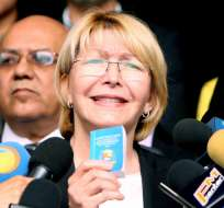 CARACAS, Venezuela.- La fiscal interpuso el jueves 2 de junio de 2017 ante el máximo tribunal una acción contra la Constituyente. Foto: AFP.