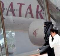 Al menos 5 aerolíneas han suspendido sus vuelos a Catar, país acusado de apoyar acciones terroristas. Foto: AFP