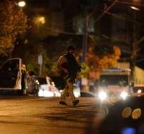 Policía abatió al secuestrador y dijo que los hechos estaban siendo investigados. Foto: AFP