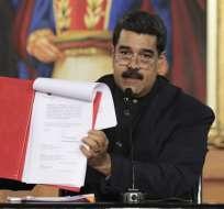 Maduro aseguró que el lunes también publicará en Gaceta Oficial la nueva exigencia. Foto: Archivo