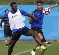 El ecuatoriano Felipe Caicedo tendría las horas contadas en el Espanyol de Barcelona.