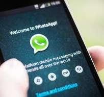 A partir del 30 de junio, WhatsApp dejará de funcionar en algunos dispositivos. Foto: AFP