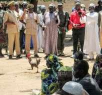 NIGERIA.- Diez civiles fallecieron en tres atentados suicidas coordinados y otro perdió la vida en el barrio de Jiddari Polo. Foto: Agencias