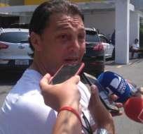 Carlos Alfaro Moreno se refirió a las declaraciones que dio el jugador Christian Penilla en su contra.
