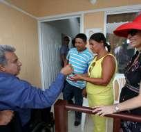 Mandatario ratificó su propuesta de construir 325.000 casas en el país. Foto: Flickr Presidencia