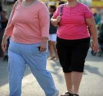 Se estima que cuatro millones de muertes en el mundo estuvieron vinculadas al sobrepeso en 2015. Foto: AFP