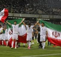 Irán jugará por quinta ocasión un mundial de fútbol. Foto: AFP