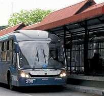 GUAYAQUIL, Ecuador.- La entidad informó que socializará el retorno de la exclusividad del carril con la ciudadanía. Foto: Archivo.
